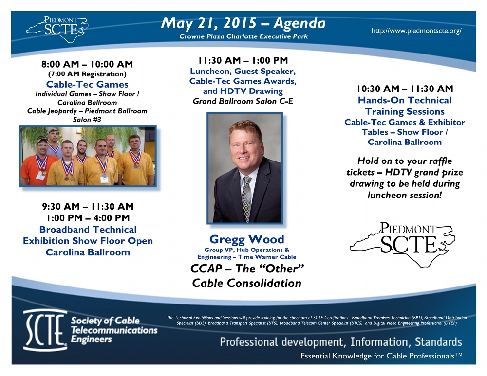 May 2015 Events